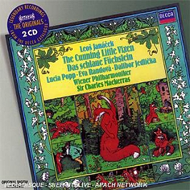 La petite renarde rusée, CD + Box