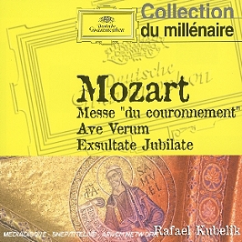 Messe du couronnement, ave verum corpus, exsultate jubilate, CD Digipack