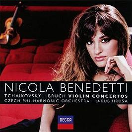 Tchaikovsky & bruch : concertos, CD