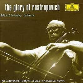 The Glory Of Rostropovich (80th birthday tribute), CD