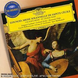Messe solennelle de sainte cécile, CD