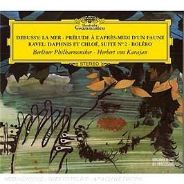 Debussy : la mer - prélude à l'après-midi d'un faune - Ravel : Daphnis & Chloé, CD Digipack