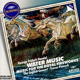 Water music - musique pour les feux d'artifices royaux, CD