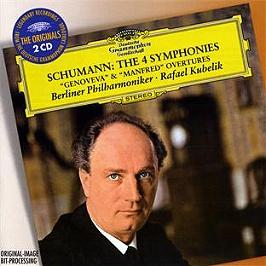 Les 4 symphonies, CD