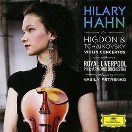 Higdon : concerto pour violon - Tchaikovski : concerto pour violon opus 35, CD
