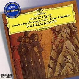 Années de pèlerinage : Italie - deux légendes, CD