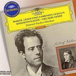 Lieder eines fahrenden gesellen - kindertotenlieder - 4 Ruckert lieder, CD