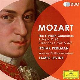 Les 5 concertos pour violon, CD