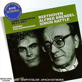 Concerto pour piano n°4 - concerto pour piano n°5, CD