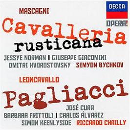 Mascagni : cavalleria rusticana - Leoncavallo : Paillasse, CD