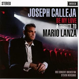 Be my love : a tribute to Mario Lanza, CD