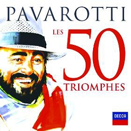 Les 50 triomphes, CD