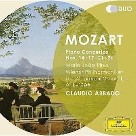 Piano concertos nos. 14, 17, 21, 26, CD