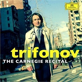 The Carnegie recital, CD