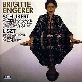 Schubert : mélodie hongroise - pièce pour piano d946 - Liszt : transcriptions, CD