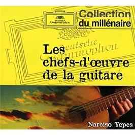 Les chefs-d'oeuvre de la guitare, CD Digipack