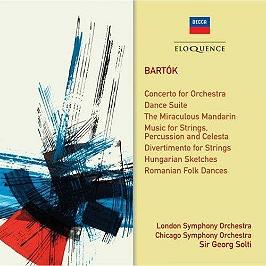 Concerto pour orchestre, CD