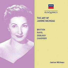 Art of Janine Micheau, CD