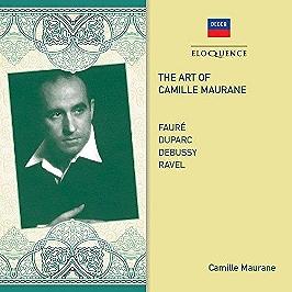 Art of Camille Maurane, CD