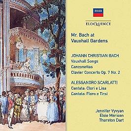 Mr. Bach at Vauxhall gardens, CD