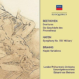 Overtures / symphony 100 / Haydn variations, CD