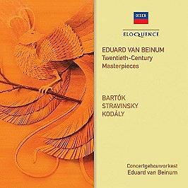 Twentieth century masterpieces, CD
