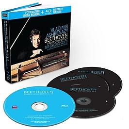 Beethoven : piano concertos, Edition limitée livre disque 3 CD + 1 Blu-ray., CD + Blu-ray