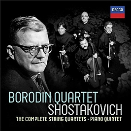 Shostakovich : complete string quartets, CD + Box