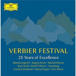Verbier festival - 25 years of excellence, CD + Box