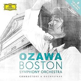 Seiji Ozawa & Boston Symphony Orchestra, CD + Box