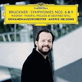 Bruckner : symphonies 6 & 9, CD