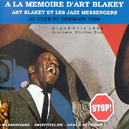 Au Club St Germain 1958, CD