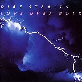 Love over gold, CD
