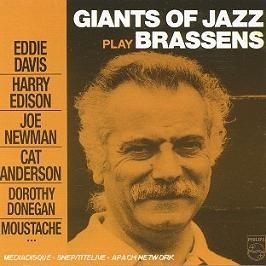 Giants of jazz play Brassens, CD