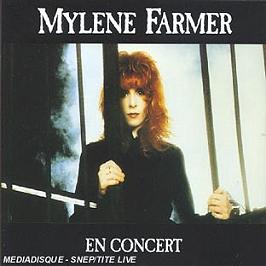 Mylene Farmer En Concert, CD