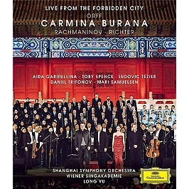 Orff : Carmina Burana (live from the Forbidden City), Blu-ray Musical