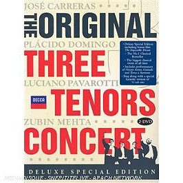 The Original Three Tenors Concert, Dvd Musical