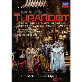 Puccini Turandot, Dvd Musical