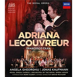 Adriana lecouvreur, Blu-ray Musical