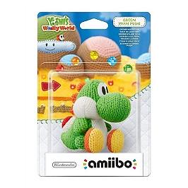 Figurine Amiibo Yoshi de laine vert