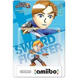 Figurine Amiibo N°49 - Epeiste Mii - collection super Mario