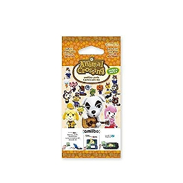 Paquet de 3 cartes Animal Crossing (série 2)