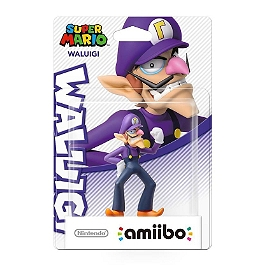 Figurine Amiibo - collection Super Mario - Waluigi