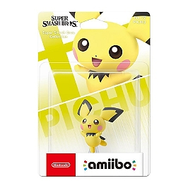 Amiibo n°72 pichu - collection super smash bros.