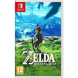 The legend of Zelda : breath of the wild (SWITCH)