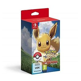 Pokémon : let's go evoli ! + poké ball plus - Limitée (SWITCH)