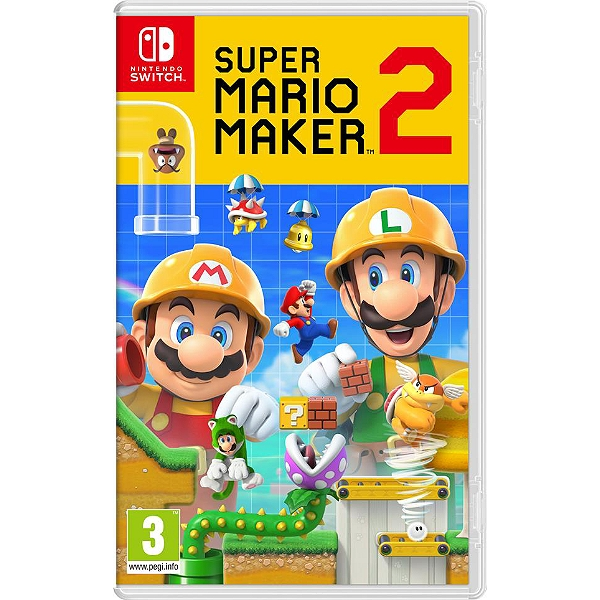 Calendrier Jeux Switch.Super Mario Maker 2 Switch