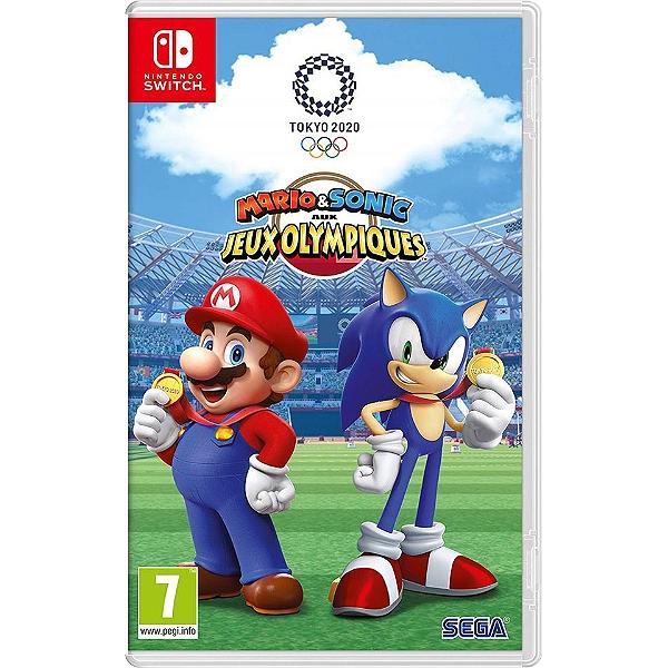Mario Sonic Aux Jeux Olympiques De Tokyo 2020 Switch