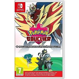 Pokémon Bouclier+Pass d'Extension pour Pokémon Bouclier (SWITCH)