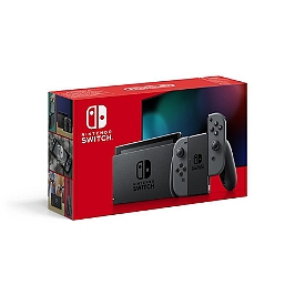 Console nintendo switch avec une paire de joy-con grises (SWITCH)